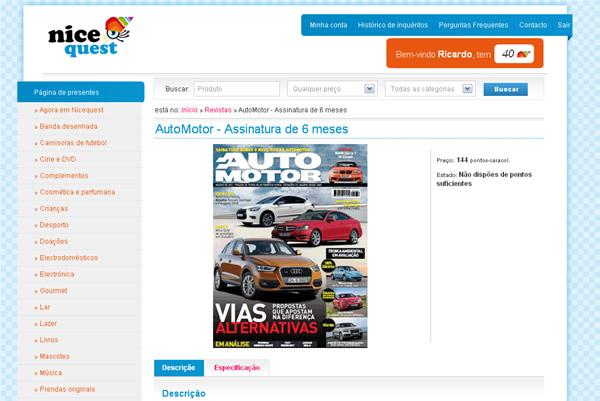 Como obter grátis uma assinatura da revista AutoMotor ?