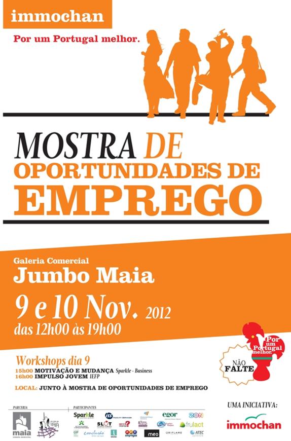Mostra de Oportunidades de Emprego 2012 - Jumbo da Maia