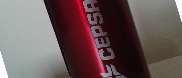 Oferta CEPSA - 1 garrafa em alumínio