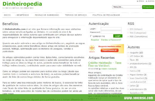 site-dinheiropedia-promovido-100-crise