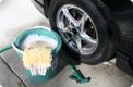 Poupar água ao lavar o automóvel