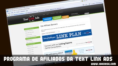 Sistema de afiliados Text Link Ads