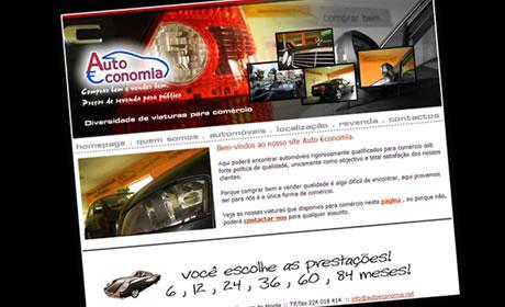 Auto €conomia – stand automóveis usados