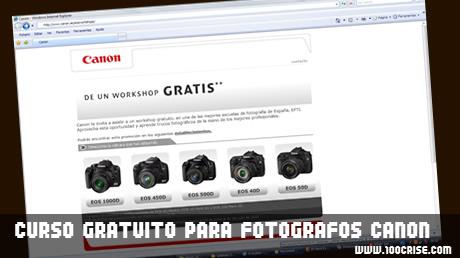 Canon oferece WORKSHOP gratuito para clientes Canon
