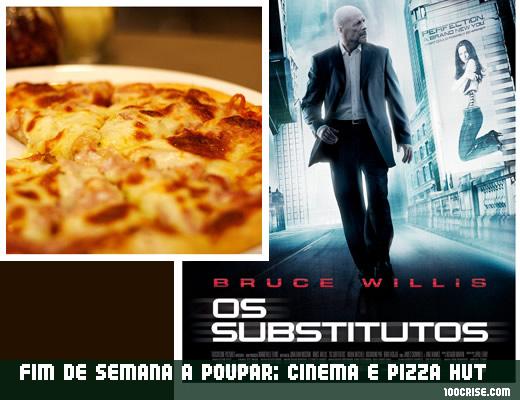 Fim de semana a poupar com cinema zon lusomundo e pizza hut