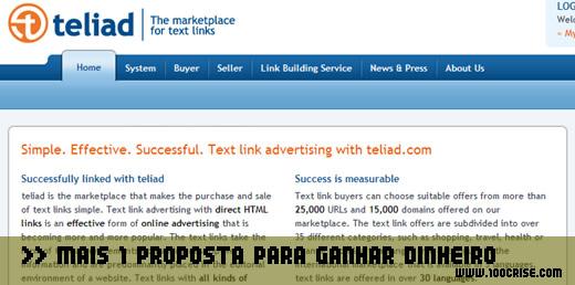 Ganhar dinheiro : vendi o meu 1º link na TELIAD por 4 euros/mês