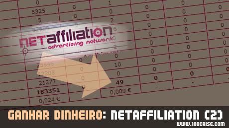 SEO – optimização de sites: recorde de cliques na Netaffiliation