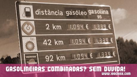 Concertação de preços com provas evidentes só em Portugal!