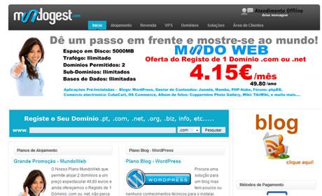 Alojamento a BOM preço para os teus sites