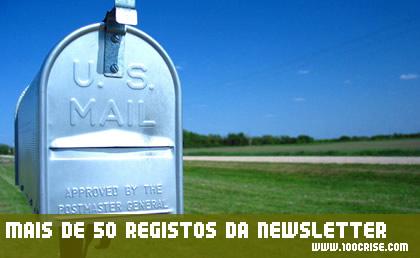 Chegamos aos 50 registos da newsletter para poupar dinheiro.