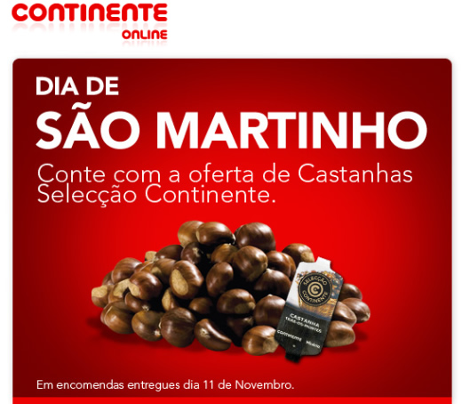 No dia de São Martinho, comes as castanhas e provas o vinho…