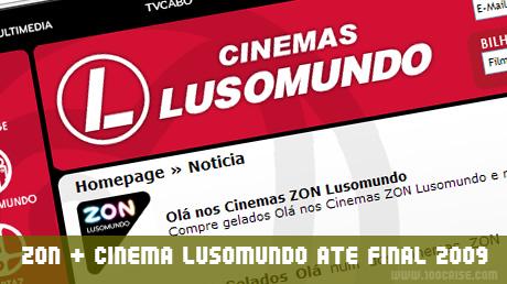 ZON renova promoção das ofertas nos cinemas Lusomundo até final de Dezembro 2009
