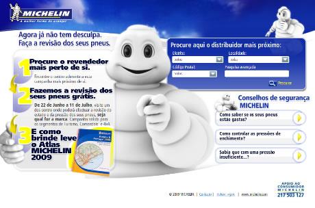 Verifica os teus pneus gratuitamente e obtém Oferta Pneus Michelin
