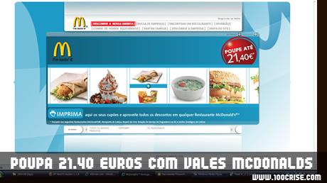 Podes poupar até 21.40 euros em ofertas nas refeições Mcdonalds
