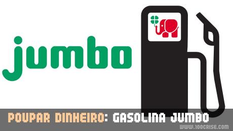 Gasolina Jumbo : poupei 3 euros com 40 euros de gasolina sem chumbo 95