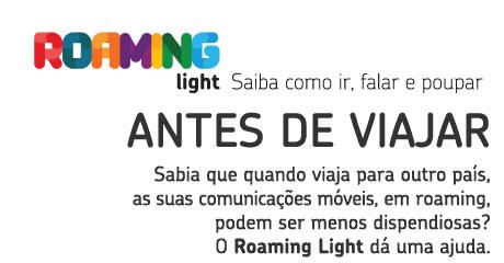 Vais viajar? Poupa no roaming, com Roaminglight.net