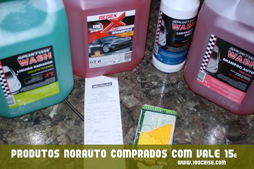 Vale de desconto 15 euros em produtos Norauto (vantagens do cartão Norauto)