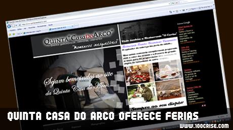 Quinta Casa do Arco oferece voucher para 7 dias de férias no Algarve, em Albufeira