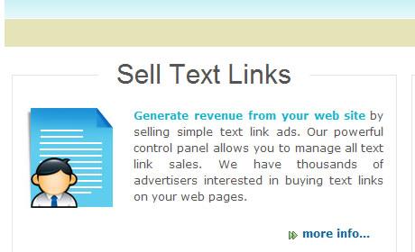 Vende LINKS no teu site e ganha dinheiro.