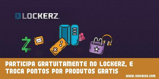 Participa gratuitamente no site Lockerz e poderás trocar pontos por prémios