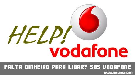 Não tens saldo para telefonar? SOS Extra! Vodafone empresta saldo.