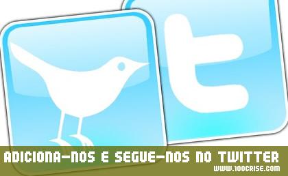 Já utilizamos o Twitter, adicionem-nos para se manterem actualizados :)