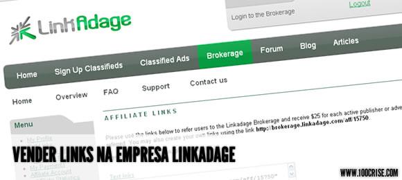 Linkadage é mais uma forma de ganhar dinheiro com a venda de links