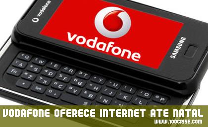 Vodafone oferece Internet móvel em telemóveis até final Dezembro 2009